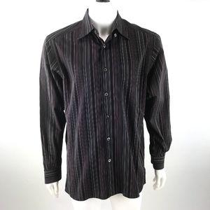 Ermenegildo Zegna LS Button Down Dress Shirt Sz M